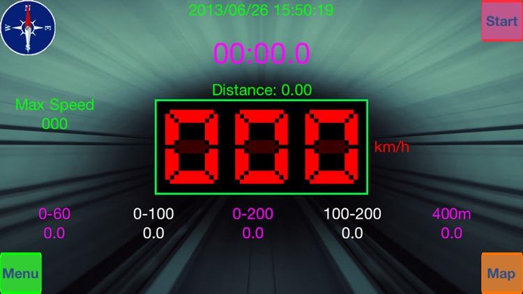 GPS Speed Test Lite