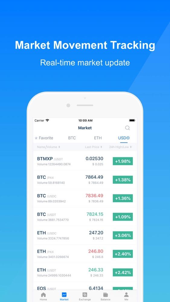 BitMax-Digital Asset Exchange App for iPhone - Free Download BitMax