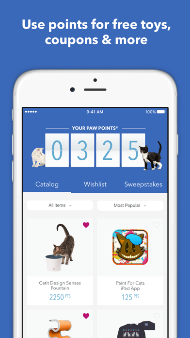 Fresh Step® Paw Points® Rewards screenshot