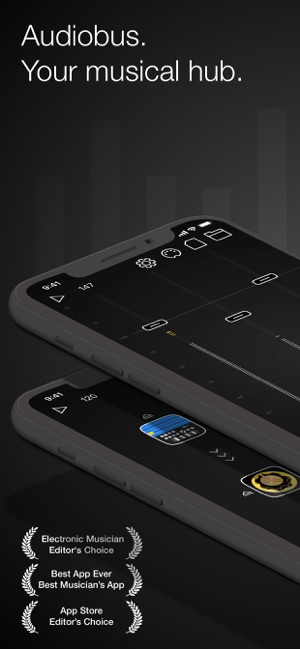 Audiobus: Mixer for music apps Screenshot