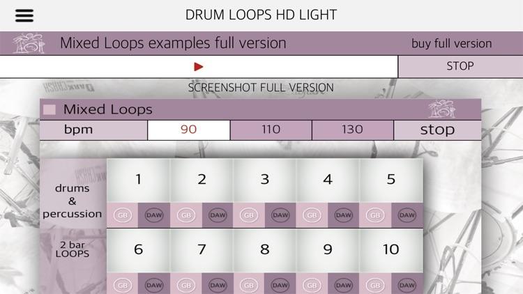 Drum Loops HD Light screenshot-8