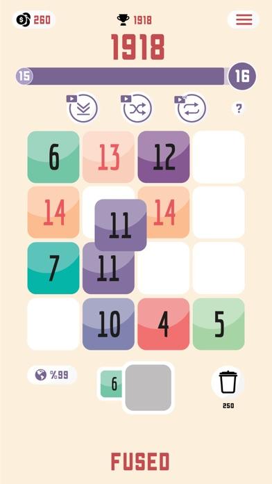 Fused: Number Puzzle screenshot 5