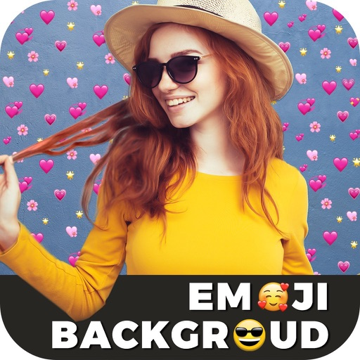 Emoji Background Photo Maker