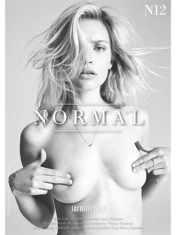 Screenshot of NORMAL MAGAZINE - The best nudes by the best photographers