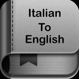 Italian to English Dictionary●