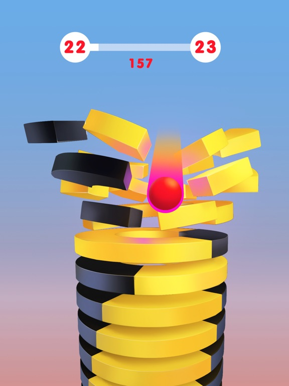 iPad Image of Stack Ball 3D