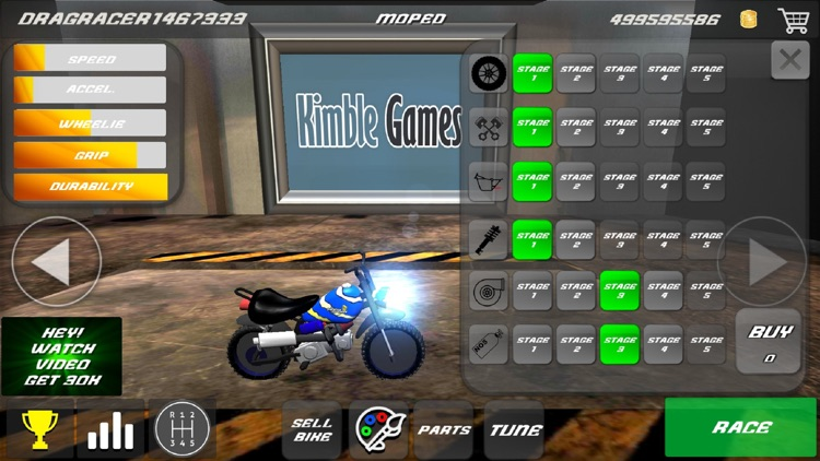 Drag Bikes - Motorbike edition screenshot-1