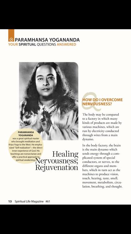 Spiritual Life Magazine screenshot-8