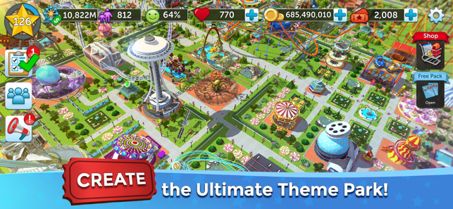 Rollercoaster Tycoon Touch On The App Store