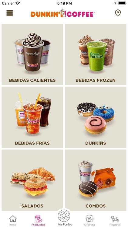 Dunkin Coffee España screenshot-3