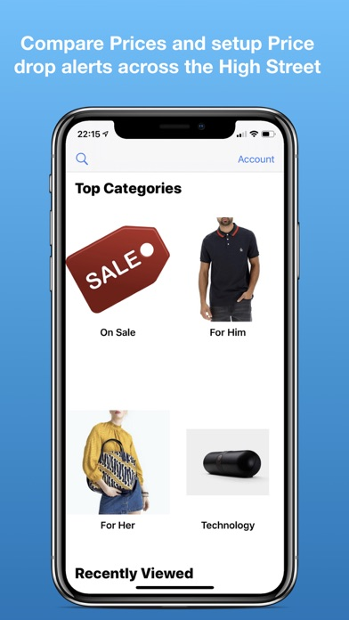 LoveVoucher Shopping App screenshot one