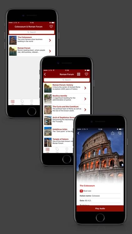 Colosseum & Roman Forum screenshot-3