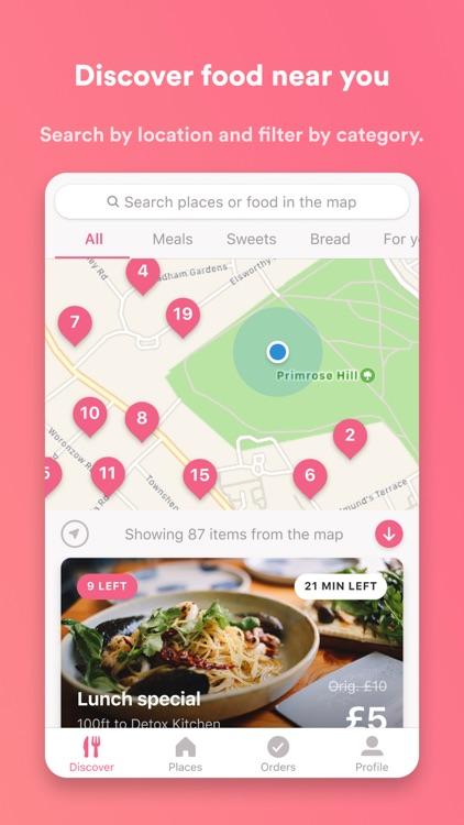 Karma - The Surplus Food App