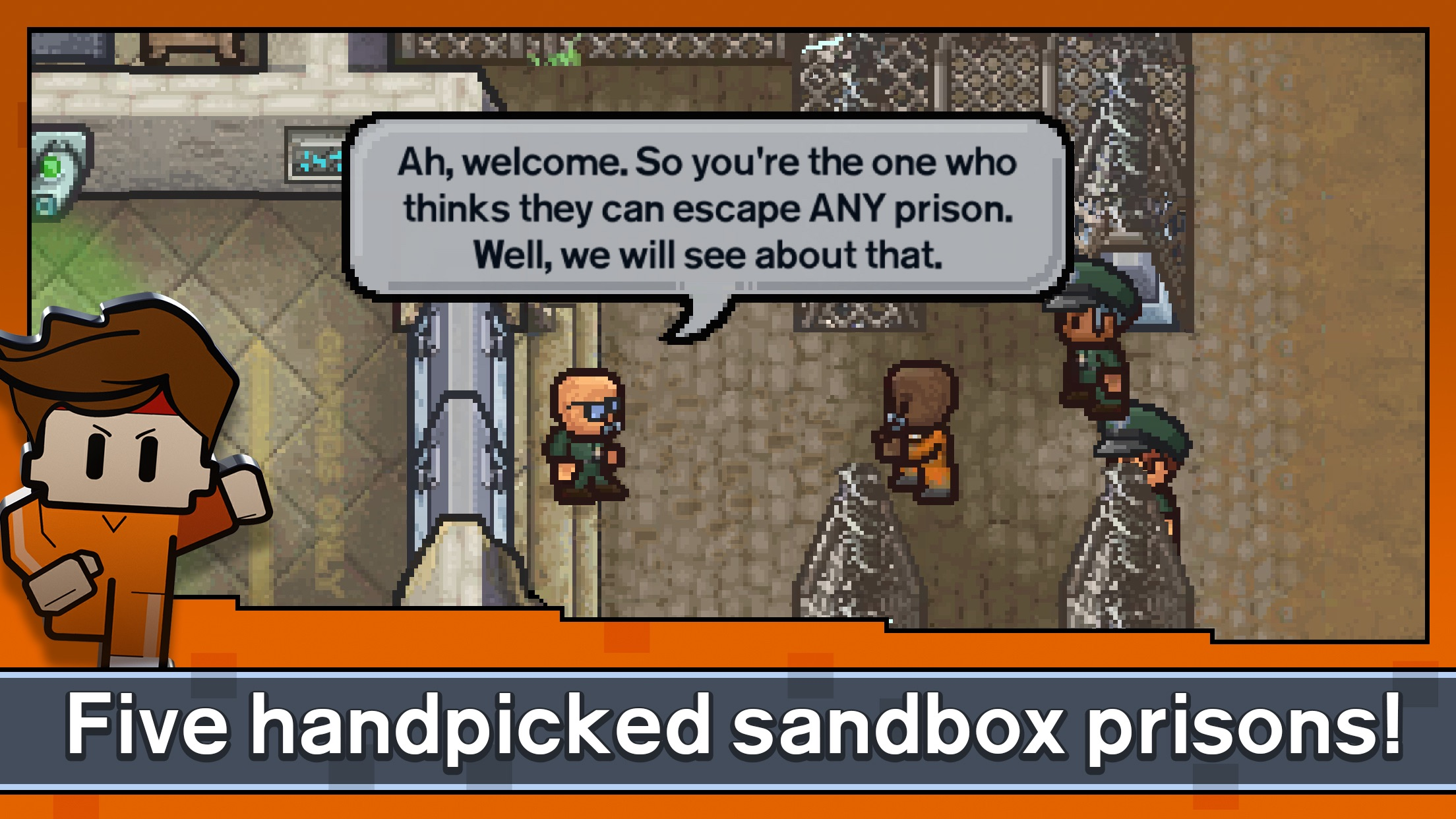 Screenshot do app Escapists 2: Pocket Breakout