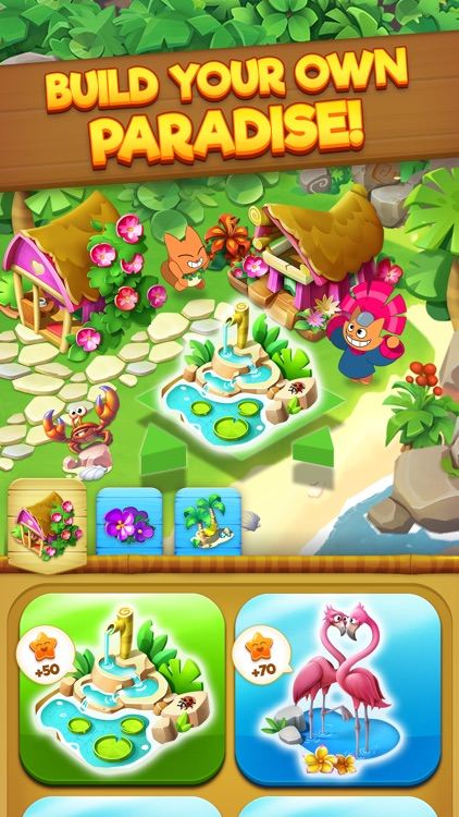 Tropicats: Match 3 Puzzle Game screenshot-3