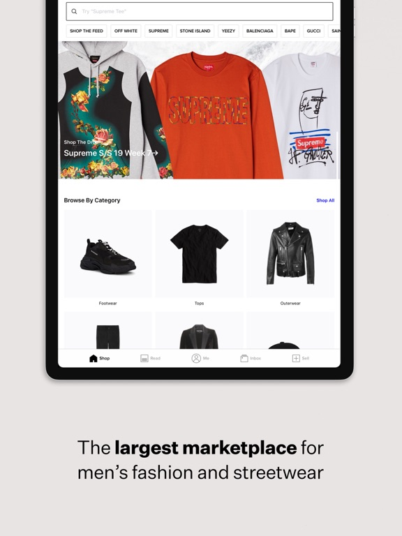 Screenshot #5 pour Grailed - Buy & Sell Clothing