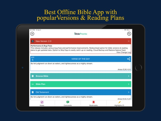 Bible Pronto - Holy Bible App on the App Store
