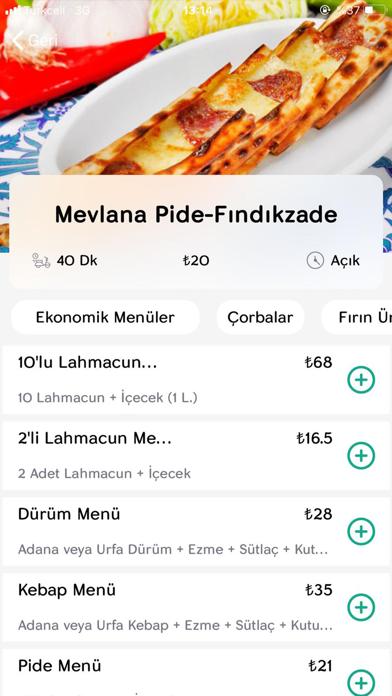 Yettim – Yemek Siparişi screenshot four