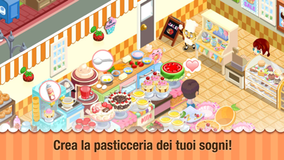 Screenshot of Bakery Story1