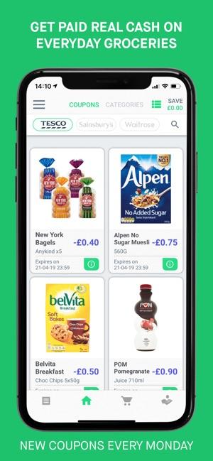 iphone coupon app uk