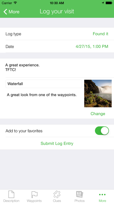 Screenshot for Geocaching Buddy in Sweden App Store