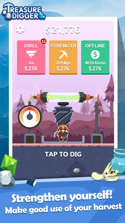 Treasure Digger:Miner! screenshot-2