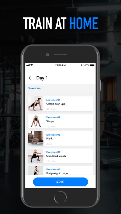 HomeFit Men: Home Workoutsのおすすめ画像3