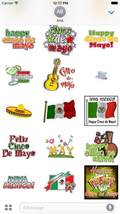 Happy Cinco De Mayo Sticker screenshot 2