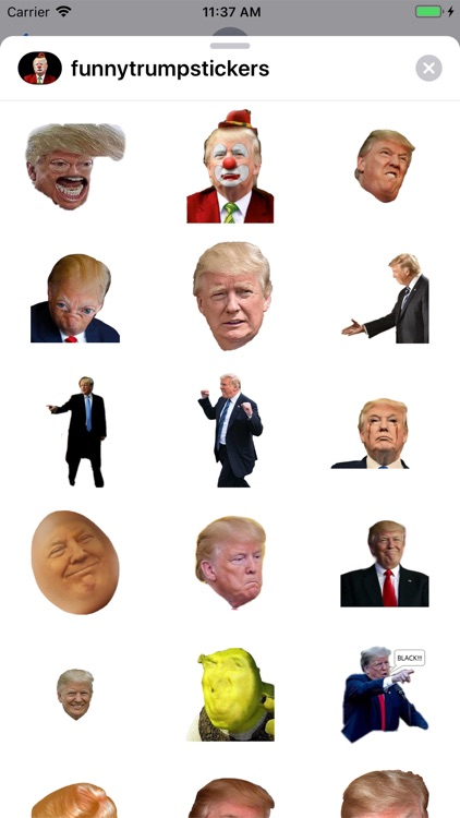 Funny Donald Trump Stickers screenshot-4