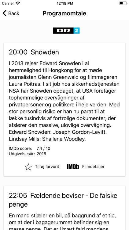 dansk tv oversigt app