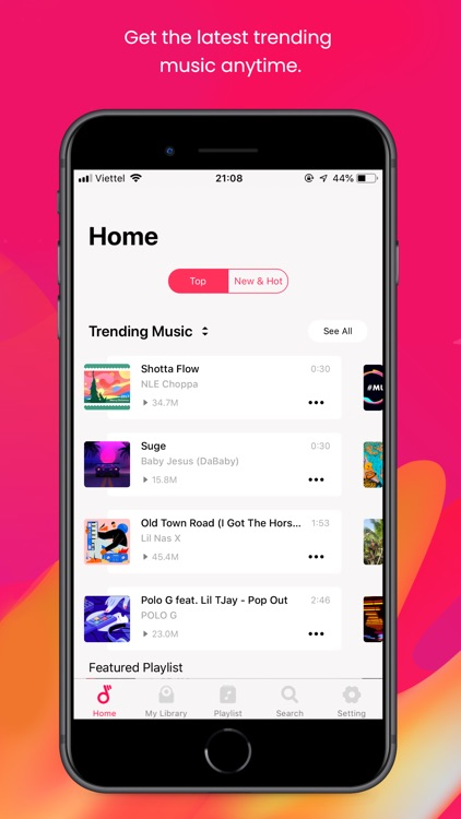 Music Trends - MP3 Player