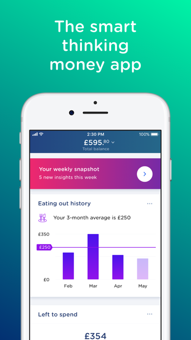 Yolt - The Smart Money Manager screenshot one