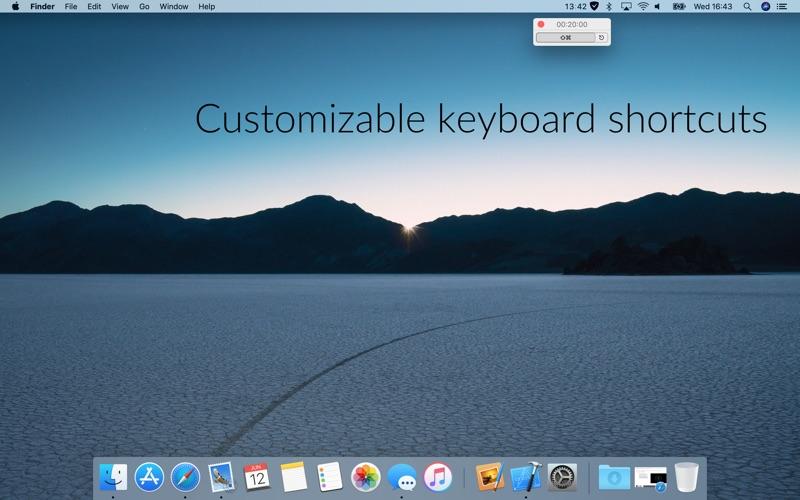 Timey 3: menu bar timer скриншот программы 3