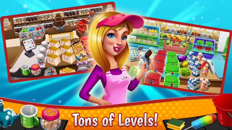 Supermarket Fever - Girls Game screenshot-3