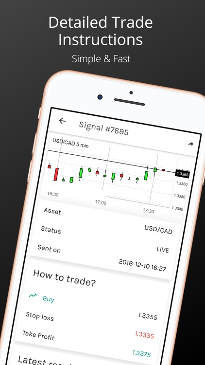 Forex Signals App screenshot-1
