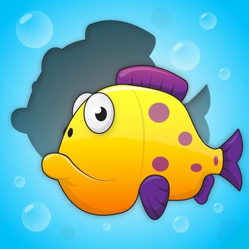 Toddler Puzzle: Fish & Bubbles