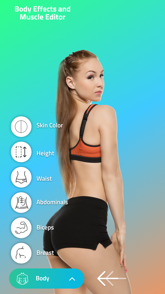 Body editor ' App for iPhone - Free Download Body editor