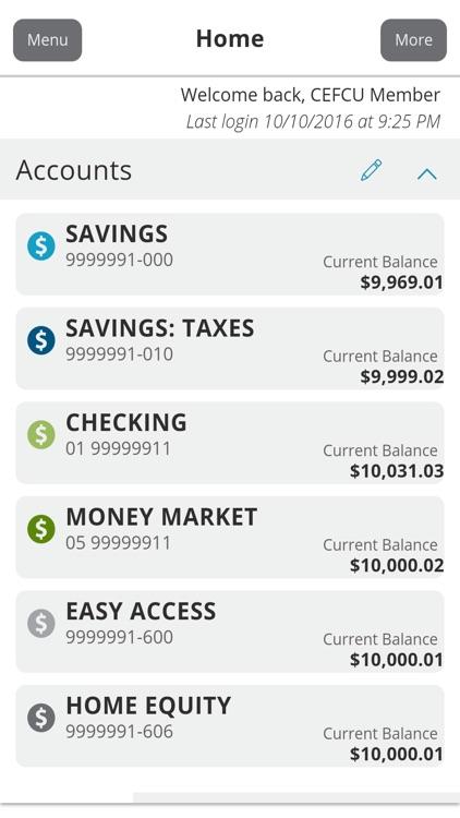 CEFCU Mobile Banking screenshot-3