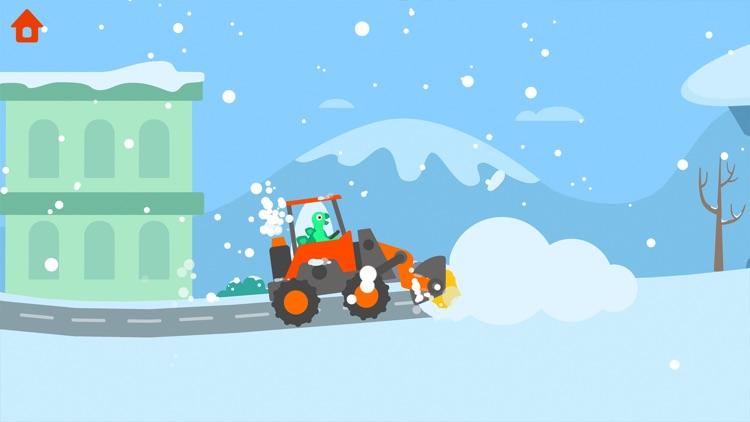 Dinosaur Garbage Truck screenshot-8