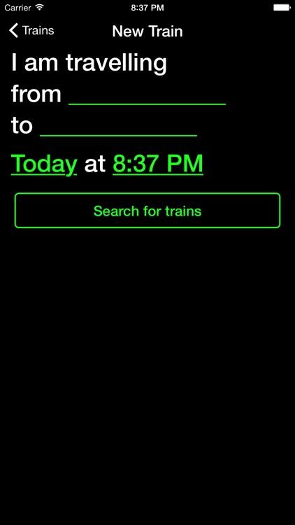 Track - Real time trains screenshot-4