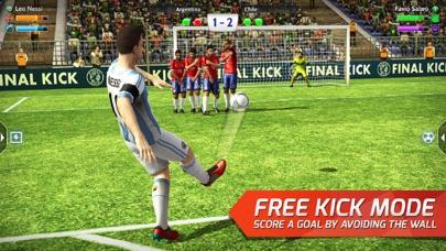 Final Kick: Online football free Life hack