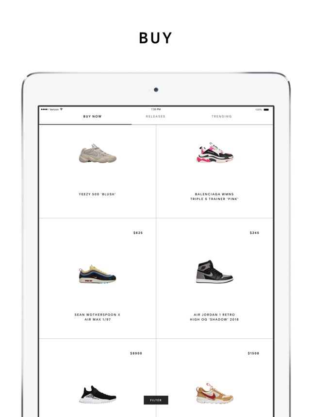 483cf3bc03d401  GOAT – Shop Sneakers on the App Store