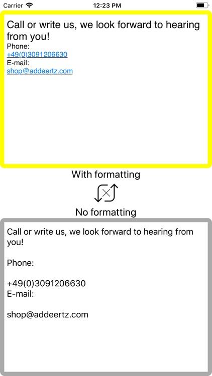 Plain Text Maker screenshot-3
