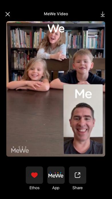 MeWe Camera: Fun Dual-Camera screenshot 1