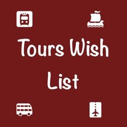 Tours Wish List
