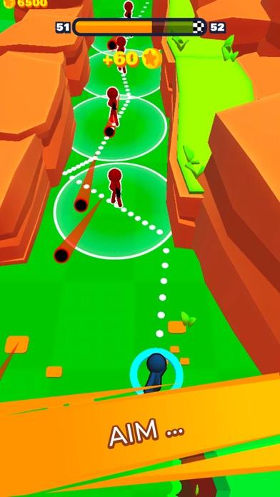 Stickman Dash! screenshot 2