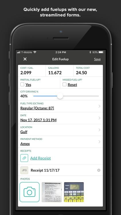 Fuelly: MPG & Service Tracker screenshot-4