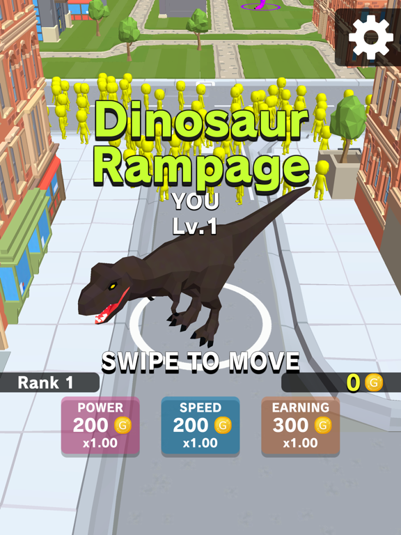 iPad Image of Dinosaur Rampage