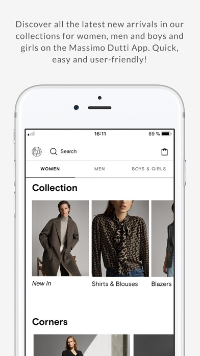 Screenshot for Massimo Dutti in Jordan App Store