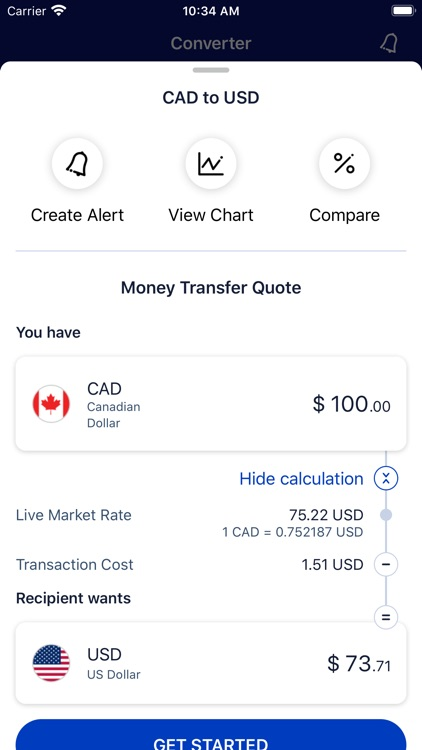 Xe Currency & Money Transfer